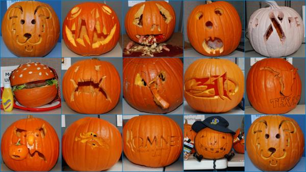 Pumpkin Contest 2012 Collage