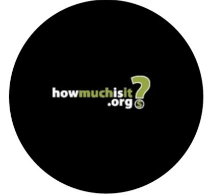 How Much is It Logo Round